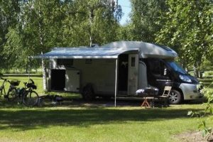 The camping