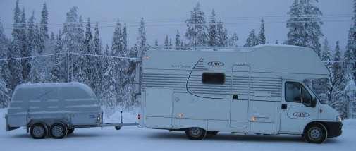Asuntoauto pohjoisessa